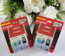 Genuine Canon 211XL Color Ink Cartridge **2 Pack Value**