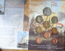 OLANDA SERIE UFFICIALE COMPLETA MONETE EURO 2002 400 JAAR ARGENTO SUBALPINA