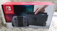 Nintendo Switch Console With Gray Joy-Con SEALED NEW
