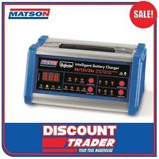 Matson 6/12/24V Infinite Intelligent Battery Charger SLA/Deep Cycle/AGM IR61224