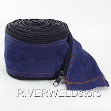 TIG Welding Torch Cable Cover Cowboy Zipper Jacket 7.5 Meter & 25 Feet Length