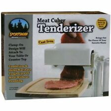 MEAT TENDERIZER Cuber Cast Iron Heavy Duty Steak Machine Flatten Kitchen Tool