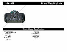 Drum Brake Wheel Cylinder-Drum Rear Centric 135.61041