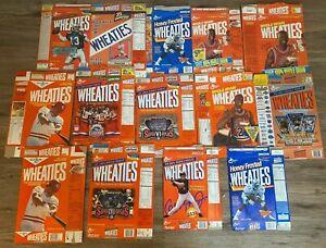 Lot of 14 uncut vintage Wheaties boxes Michael Jordan and more