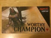 Amonkhet Game Day Worthy Champion Playmat Magic the Gathering MTG