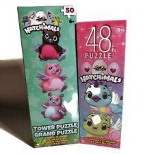 Lot Of 2 Brand New Kids Pack Hatchimals 48 + 50 Piece Jigsaw puzzles Fun