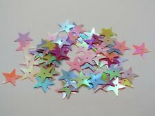 1500 Mixed Color Star loose sequins Paillettes 15mm sewing Wedding craft