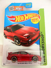 Hot Wheels 2015 HW Workshop '96 Nissan 180SX Type X (US Card) 205/250 (A+/A-)