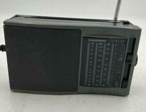 Grundig Portable Radio Used Good Condition (HC)