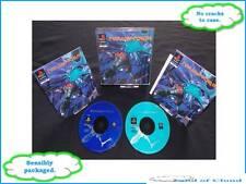 Novastorm - Playstation 1 PS1 with manual + FREE Super Mario figure