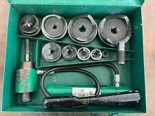 Greenlee 7310 Knockout Hydraulic Punch Set Kit Set 12 To 4 767 Case