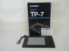 CASIO GRAPHIC PANEL TP-7 Boxed For MSX Cracked Import JAPAN Video Game 1903