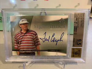 2003 SP Authentic FRED COUPLES Sign of the Times Auto BGS 9.5 GEM MINT