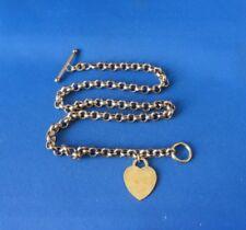 "Vintage Signed: Vermeil (Gold on Sterling) 18"" Watch Fob"