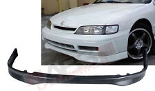 Type R style Front Lip for 1994-95 Honda Accord 2/4DR Unpainted Polyproplyene