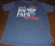 The Smurfs shirt size Large L Papa Smurfette Gilgamesh 80's Cartoon Epic Fail