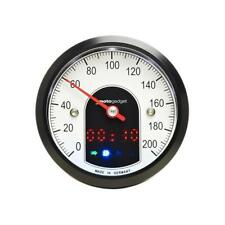 LSL MotoGadget MotoScope Tiny Speedometer Tachometer Instrument Black