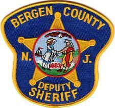 Bergen County Deputy Sheriff NJ New Jersey patch