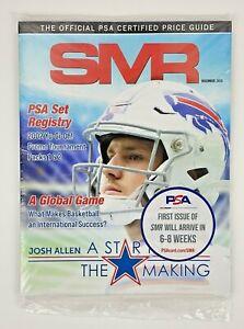 SMR Magazine December 2020 Official PSA Certified Price Guide Book Josh Allen