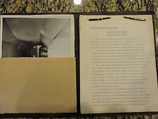 """Rare"" Southern California Cooperative Wind Tunnel ..Press Book..dated 1945"