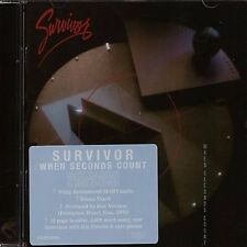 SURVIVOR - WHEN SECONDS COUNT - ROCK CANDY REMASTERED EDITION - NEW CD