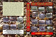 2986. West Midlands Video Archive. Volume 2 1990-1991.  Filmed in  Redditch, Bav