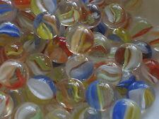 25 x 16mm Multi Colore Occhi di Gatto VETRO BIGLIE GIOCO SOLITARIO Party Bags