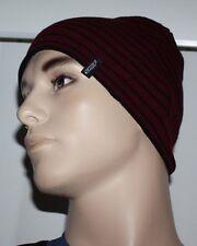 Alpinestars CONTRAST Men's Burgundy/Black Beanie Hat Sz OS **