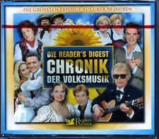 Chronik der Volksmusik  -   Reader's Digest 5 CD Box  OVP
