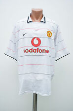MANCHESTER UNITED ENGLAND 2003/2004/2005 THIRD FOOTBALL SHIRT JERSEY NIKE