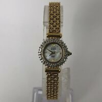 Anne Klein Womens 753S Swiss Diamond Accent Mother of Pearl Analog Wristwatch