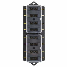 Fulseholder Mini 8 Way Blade Fuse Holder Block Box Audio Electronics Part 12V