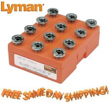 7712110 Lyman Shellholders for reloading press BOX of 12  # 7712110 New!