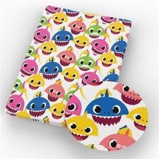 SHARK 100% Cotton Fabric Material 19