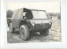 N°10759 /  photo véhicule militaire Bison 4x4 1970 ?