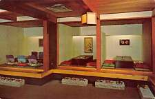 Chicago Illinois Kiyos Japanese Restaurant Interior Vintage Postcard K38180