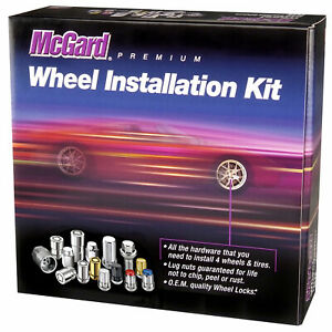 McGard 6 Lug Hex Install Kit w/Locks (Cone Seat Nut) M14X1.5 / 13/16 Hex /