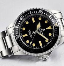 STEINHART Ocean Vintage Miltary - NEW (Black Dial) Diver Watch Swiss ETA 2824-2