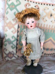 """Unbelievable!! 11"""" Hilda Toddler! Rare Doll! By Kestner!"""
