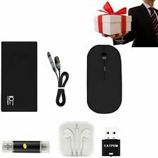 Birthday Gift Set For Boy Girl Power bank Wireless Mouse Flash drive Earphone