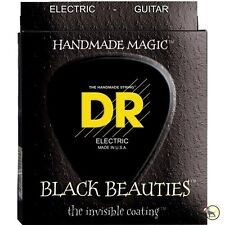 Dr Strings Bke-10/52 Black Beauties Big & Heavy Electric Guitar Strings (10-52)