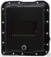 Transmission Oil Pan black steel drain plug GM 700R4 700r 700r-4 chevy chevrolet