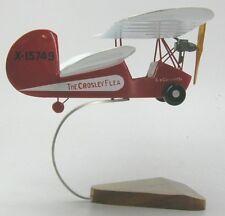Mignet HM-14 Flying Flea Airplane Desktop Wood Model Large