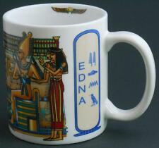 Linyi EGYPTIAN Personalized Name Edna Coffee Cup Mug