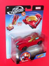 Hot Wheels FLIP FIGHTERS IRON MAN Marvel Character Cars  1/43  FLM74-0910