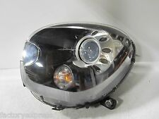 11 12 13 MINI COUNTRYMAN BI XENON HEADLIGHT BLACK LEFT DRIVER COMPLETE OEM