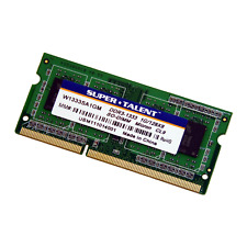 Super Talent 1GB PC3-10600 1333MHz 204-Pin SODIMM Laptop RAM W1333SA1GM