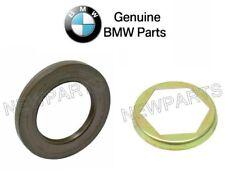 BMW E31 E34 E46 Set of Seal with Lock Plate Genuine 33121205138 / 33121213949