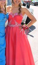 Stunning Sherri Hill Prom / Quinceanera Dress - Coral - Size 4