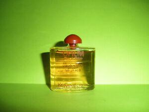 Vintage YSL OPIUM Eau de Toilette EDT Orig Formula .26oz Mini Perfume NEW